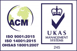 ISO 9001:2015 - Quality Management System Certification, ISO 14001:2015 - Environmental Management System Certification, BS OHSAS 18001:2007 - Occupational Health and Safety Management System Certification, Audited by ACM